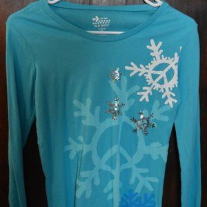 Old Navy- LS winter shirt- size 14